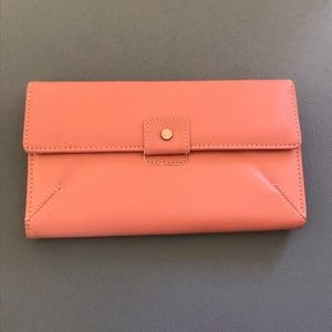 NWOT Leather Kenneth Cole Blush Pink Wallet